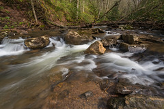 Streaming Creek (Ken Krach Photography) Tags: fallsofthehillscreek