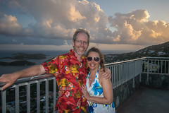 Happy Birthday to my best friend!!! (tquist24) Tags: caribbean caribbeansea charlotteamalie charlotteamalieoverlook nikon nikond5300 outdoor skylinedriveoverlook stthomas usvirginislands virginislands wanda clouds color colorful couple dress evening fence flash geotagged girl hill hills island man ocean portrait pretty sky smile smiles sunglasses sunset tropical vacation water woman