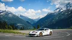 F12 TDF (Gaetan | www.carbonphoto.fr) Tags: ferrari f12 f12tdf tdf tour de france alps saint bernard cavalcade cavalcade2018 ferraricavalcade supercars hypercars cars coche auto automotive fast speed exotic luxury great incredible worldcars carbonphoto
