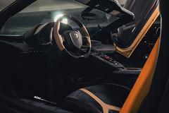 Gold Lamborghini Aventador SV Roadster LP750-4 - ADV1 ADV5.3 Track Spec CS Series Centerlock Wheels (ADV1WHEELS) Tags: lamborghini lambo aventador aventadorsv aventadorroadster convertible droptop adv1 adv1wheels forgedwheels customwheels goldwheels centerlock carbonfiber