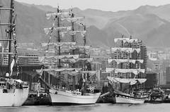 Tall Ships Cuauhtemoc (Mexico) and   Simón Bolívar (Venezuela) - Antofagasta Chile 2018 (Victorddt) Tags: armadadechile armcuauhtémoc arbvsimónbolívar velaslatinoamérica2018 tallship veleros antofagasta iiregión regióndeantofagasta chile nikond7000 nikkor70200