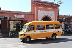 Morocco School Bus (So Cal Metro) Tags: bus schoolbus school morocco mercedes mercedesbenz 308d marrakech