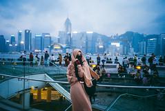 blue Hong Kong... (Damien Manspeaker) Tags: leica m8 hong kong china blue color film adventure wanderlust wander middle east bokeh exposure