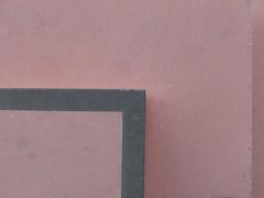 Corner of the step (mkorsakov) Tags: dortmund city innenstadt unionviertel dortmunderu minimal treppe stairs ecke corner pink schwarz black
