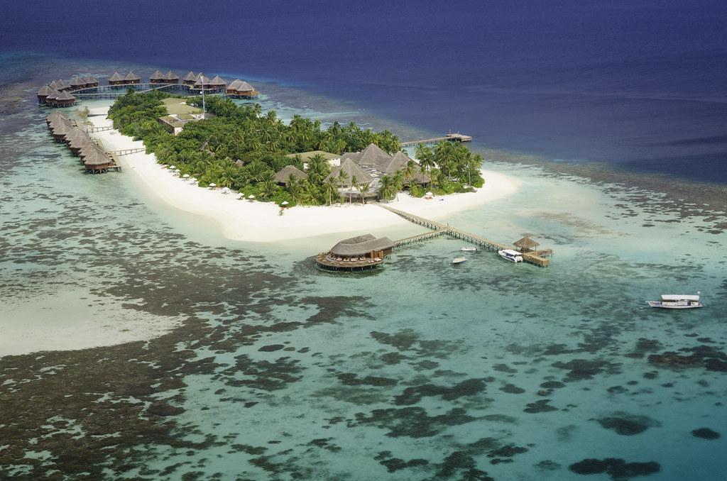 Mirihi Island - Aerial