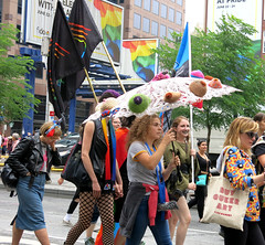 Knitted and Naughty (Georgie_grrl) Tags: dykemarch2018 toronto ontario pride happypride lgbtq celebration community family loveislove canonpowershotg15
