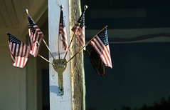 Fourth of July (Clay Fraser) Tags: bushnell nebraska flags julyfourth fourthofjuly fujifilm xpro1 xf1855mm pinconnected