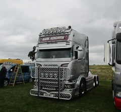 Mark Kendrew G20 MKT at Party on the Pitch truck show (Joshhowells27) Tags: lorry bury markkendrew scania v8 r620