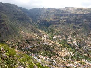 Valle Gran Rey a César Manrique-kilátópontról