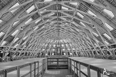 The Big Space (andrewb_photography) Tags: chatham dockyard kent chathamhistoricdockyard bw blackandwhite history