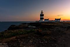hook head (1copperhead) Tags: hooklighthouse hookhead sunset cowexford wexfordcoastline sea lighthouse tranquility southeastireland ireland