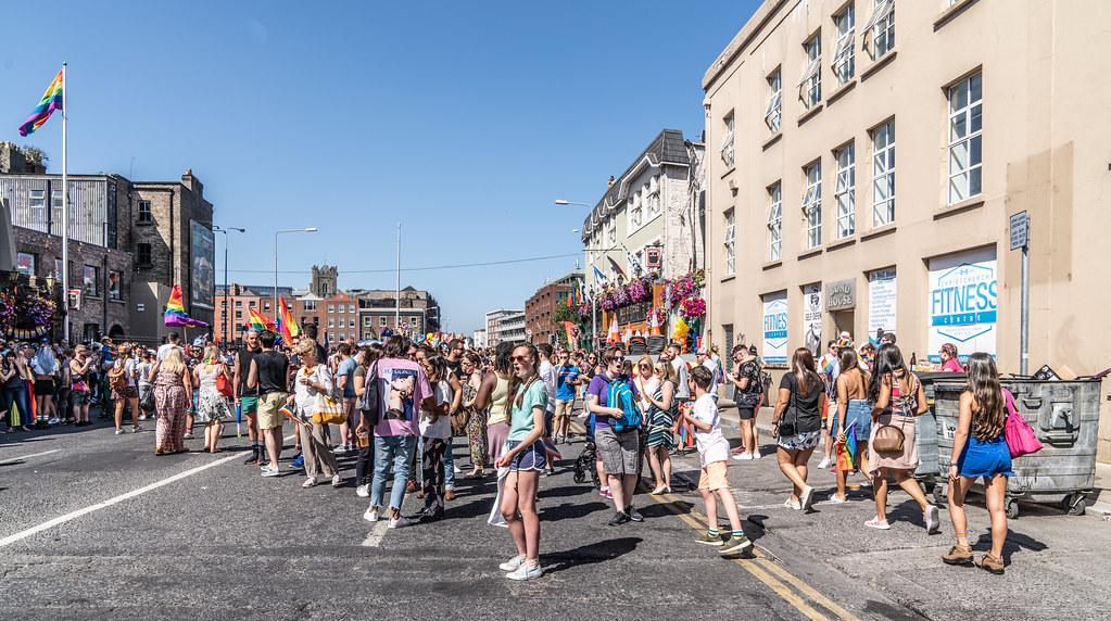 ABOUT SIXTY THOUSAND TOOK PART IN THE DUBLIN LGBTI+ PARADE TODAY[ SATURDAY 30 JUNE 2018] X-100264
