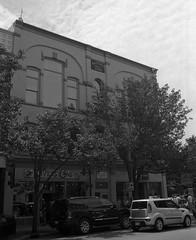 Masonic (Alex Luyckx) Tags: photostock photostock2018 traversecity michigan unitedstatesofamerica usa downtown historicdowntown urban city summer roadtrip vacation travel nikon nikonf5 afnikkor35mm12d slr 135 35mm efke efkekb100 kb100 asa100 blazinal rodinal 150 bw blackwhite epsonv700 adobephotoshopcc film filmphotography believeinfilm filmisalive filmisnotdead