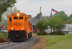 Pickens U18B #9508 at Belton (Joseph C. Hinson Photography) Tags: pickensrailroad belton southcarolina pick9508 u18b oldtrainengine vintgelocomotive