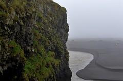 Into the unknown (mpalmer934) Tags: iceland ocean black sand beach gulls dyrhólaey
