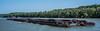 2018 - Bulgaria - Romania -  Danube River - 2 of 3 (Ted's photos - For Me & You) Tags: 2018 avalonwaterways constanta cropped nikon nikond750 nikonfx romania tedmcgrath tedsphotos vignetting tugboat tug boat ship danuberiver bulgaria river water blu bluesky wideangle widescreen