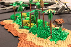 Mekong Delta June 19, 1967 (tyfighter07) Tags: lego vietnam battle scene moc mekong delta june 19 1967 charlie company c ccompany charliecompany bricks by bay bricksbythebay 2018 huey ccb command communications boat boats heli helicopter uh1b bell boein iroquois citizenbrick brickmania brickarms flames vietcong vietnamese rice patties fields field river water war netflix documentary dio diorama plants palm tree grass bamboo fishing fisherman custom vehicle vehicles flamethrower flametrooper 47th 47 infantry division