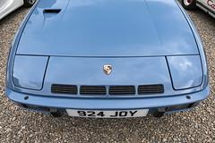 924 Turbo (syf22) Tags: car automobile auto autocar automotor motor motorcar motorised vehicle porsche porscheclubgb porscheclubgbregion2 pcgb pcgbscottishregion pcgbr2 turbo 924 924turbo blue frontengine watercool concours