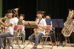 Children's concert (threepinner) Tags: mikasa concert hokkaidou hokkaido northernjapan japan nex7 fd 135mm f25 三笠 ホワイエ 三笠小学校