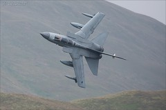 """Fang 01"" Panavia Tornado GR4 ZA543 (Ian Garfield - thanks for over 2 million views!) Tags: ian garfield photography canon avgeek low level mach loop flying bwlch exit air force tornado gr4 za543 royal panavia aircraft sky jet airplane cockpit"