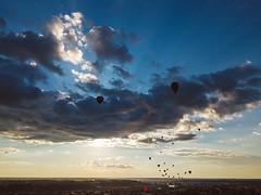 Hot Air Balloons | Kaunas Aerial #188/365 [Explored]