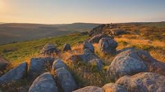 Carr Head rocks (Yvette Creighton) Tags: derbyshire peaks carrhead sunset stanage hathersage rocks moor