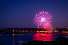 National Day (alize_28) Tags: nikon france bretagne plougonvelin summer été nature landscape paysage night nuit sea ocean beach plage 14juillet fireworks feud'artifice