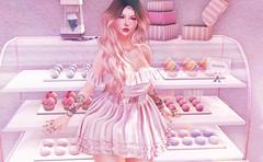 The Cakes are mine! (:-parfaitsprinkles-:) Tags: themystic theseasonsstory seasonsstory c88 collabor88 pichi physchobyts halfdeer whatnext stardust sintiklia mudskin izzies dustbunny laq maitreya secondlife sl slife kurimukuma kuma virtualgirl virtuallife virtualcakes cakes cakeshop display cute kawaii lolita purfle