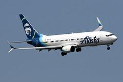 B737-8.N587AS-2 (Airliners) Tags: alaska alaskaairlines 737 b737 b7378 b737800 b737ng boeing boeing737 boeing737800 dca n587as 71418