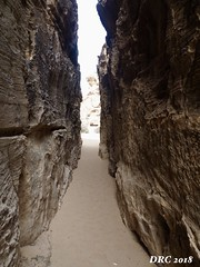The Siq - entrance to Little Petra (DRC - THANKS!! over 2.9 Million Views) Tags: siq littlepetra jordan canyon stone passage narrow