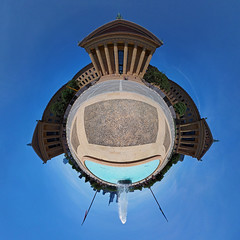 Philadelphia Museum of Art (sonic182) Tags: philadelphia museum art stereographic stereographical projection little planet rocky steps pennsylvania usa united states america usa2018