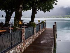 Lakeside views of St Wolfgang-M7064486-Edit (tony.rummery) Tags: austria epm1 lake lamps mft microfourthirds olympus pen stwolfgang town village wolfgangsee sanktwolfgangimsalzkammergut oberösterreich at