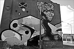 Scott St Bridge Wincolmlee  Monochrome (brianarchie65) Tags: streetart graffiti graffitiart graffitistreetart bridges water monochrome blackandwhite blackandwhitephotos blackandwhitephoto blackandwhitephotography blackwhite123 blackwhiterealms flickrunofficial flickr flickrcentral flickrinternational ukflickr flickruk river riverhull canoneos600d geotagged brianarchie65 lapollution litter rubbish banksidegallery ngc unlimited
