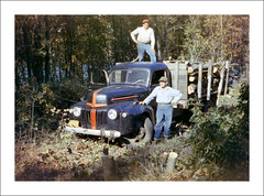 Vehicle Collection (8454) - Ford (Steve Given) Tags: workingvehicle automobile ford truck lorry firewood 1960s