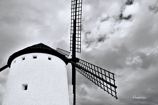 Clouds and mill