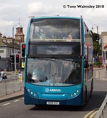 Arriva Shires 5456 Watford Junction (TonyW1960) Tags: alexander dennis watfordjunction trident arriva 5456 sn58eoc