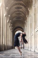 (dimitryroulland) Tags: nikon d600 85mm 18 dimitryroulland louvre paris france architecture dance dancer ballet ballerina natural light performer art artist pointe