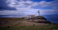 Neist Point Lighthouse (koos.dewit) Tags: gb 2017 fujifilm fujifilmxt2 fujinonxf1024mm koosdewit le longexposure neistpointlighthouse scotland holiday koosdewitnl landscape sea seascape