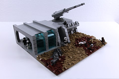 LEGO Star Wars | Imperial Research Base on Mimban MOC (Izavagooba) Tags: lego star wars battle endor hoth mimban solo stor soloastarwarsstory turret tutorial tree groundwork rockwork base outpost clone rebel empire imperial atst