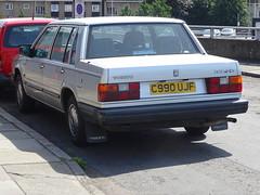 1986 Volvo 740 GLT (Neil's classics) Tags: vehicle car 1986 volvo 740glt