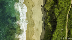 Earth Life (AKphotographyStaffordshire) Tags: path beach sea coast stjust zennor cornwall akphoto akphotography vortexdrone amanda weller karl neapolitan cornish drone aerial platinum pro mavic