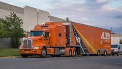 Kenworth T660 (NoVa Truck & Transport Photos) Tags: big bunk condo sleeper kenworth t660 allied van lines atlas transfer storage