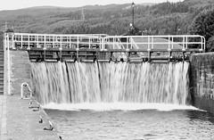 Fort Augustus 20 June 2018 (12b) (paul_appleyard) Tags: fort augustus scotland caledonian canal lock gates flowing water