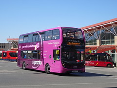 Stagecoach 10980 Mansfield (Guy Arab UF) Tags: stagecoach east midlands 10980 sn18ktu alexander dennis e40d enviro 400mmc mansfield bus station pronto nottinghamshire buses