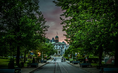 McGill University (Photo Alan) Tags: montreal mcgilluniversity landscape tree trees building architecture city cityscape canada