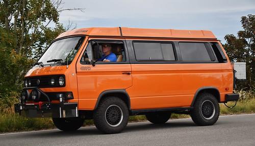 Volkswagen Vanagon Syncro 4WD Westfalia camper - a photo on