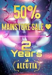 2nd Anniversary Sale ([Aleutia] | Designer) Tags: weekend friday party celebration anniversary sale summersale sales discount female fashion femalefashion