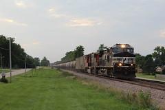 NS 9120 (CC 8039) Tags: ns cn ic cc trains c449w ac44cw sd75i lena illinois