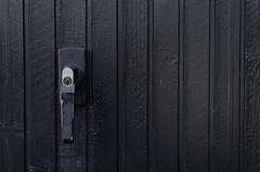 Black (Kajsa Eriksson Color projekt) Tags: kajsa eriksson photography plain color project black door handle