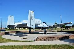A-10 Thunderbolt II, U. S. Air Force (76-530), Whiteman Air Force Base, Missouri (EC Leatherberry) Tags: usairforce a10thunderboltii 1976 whitemanairforcebase missouri fairchildrepublic